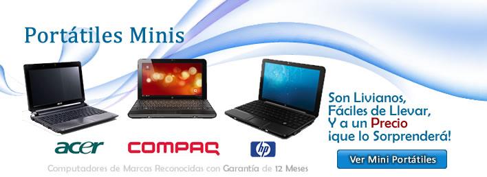Promoción Computadores Mini Portátiles en Bogotá