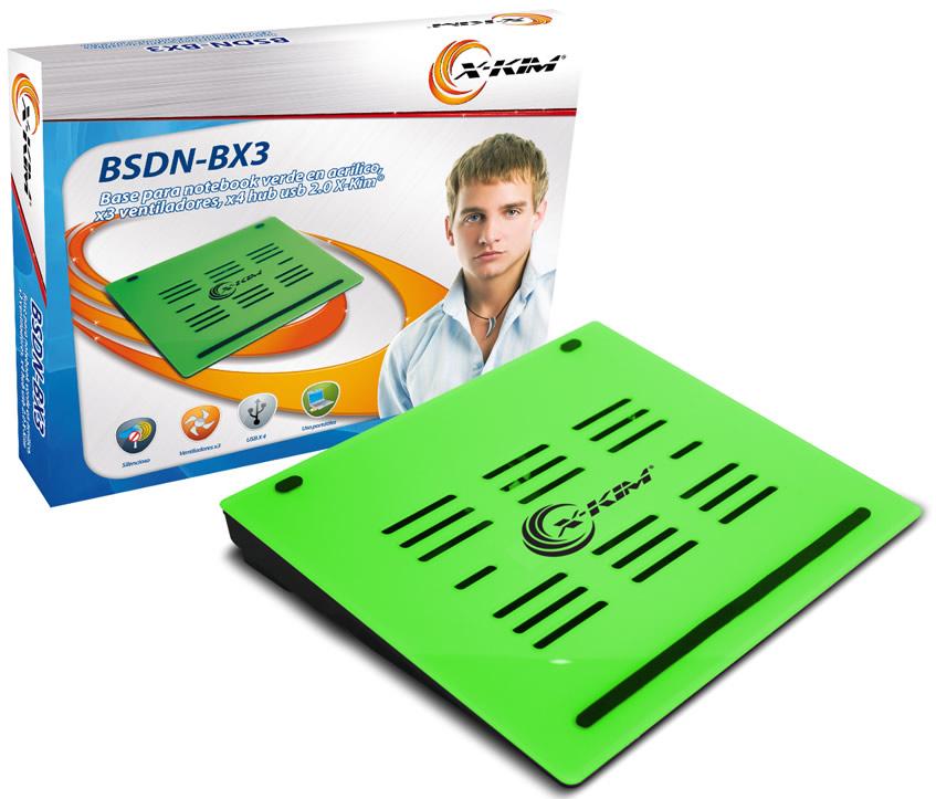 Empaque Original de la Base Refrigerante - X-Kim BSDN-BX3