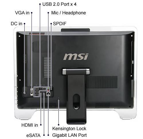 MSI WIND TOP AE 2220