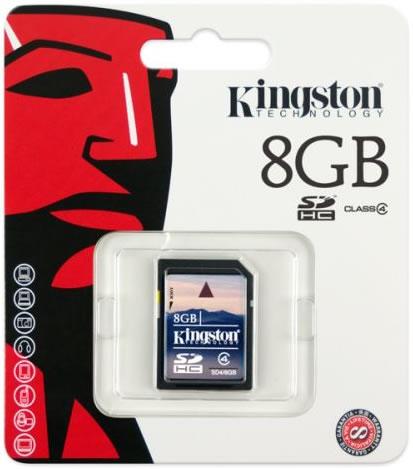 Kingston Memoria MicroSD 8GB