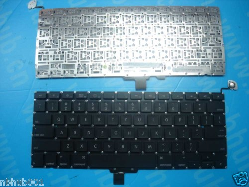 Teclado de repuesto Apple macbook negro