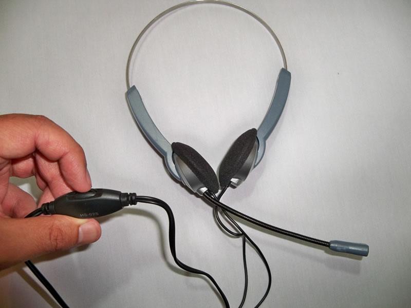 Genius Diadema Telefónica con Conector RJ11
