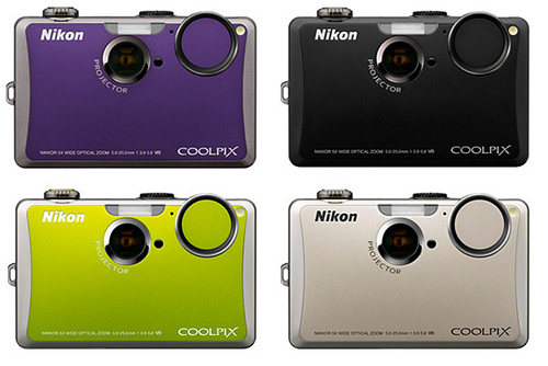 NIKON COOLPIX S1100 TOUCH VIDEO PROYECTOR 14MP