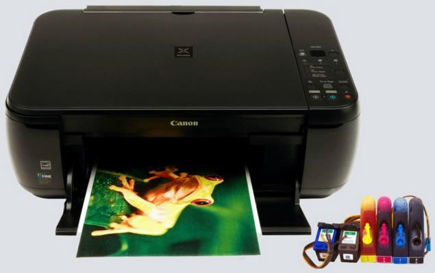 Canon MP280 con Tinta Continua