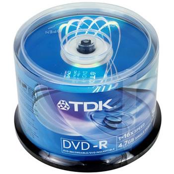 TDK DVD-R x 50 Unidades
