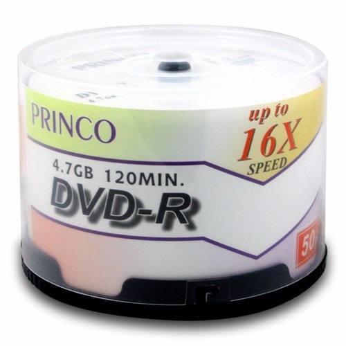 PRINCO DVD-R x 50 Unidades