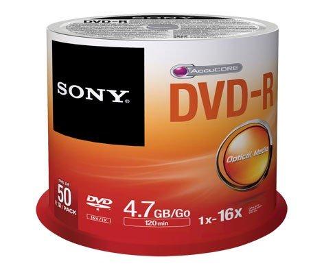 SONY DVD-R x 50 Unidades