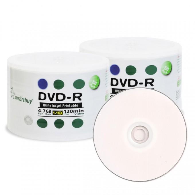 SMARTBUY DVD-R IMPRIMIBLE x 50 Unidades
