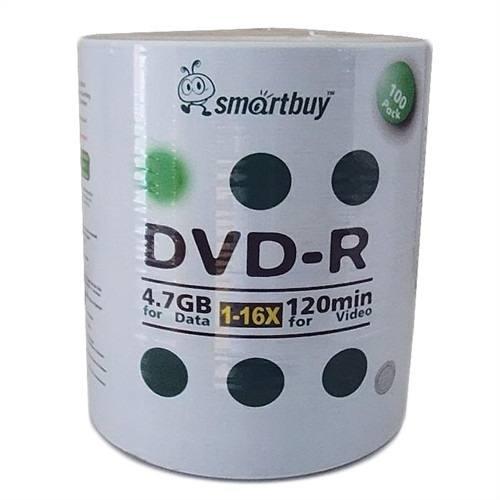 SMARTBUY DVD-R IMPRIMIBLE x 100 Unidades