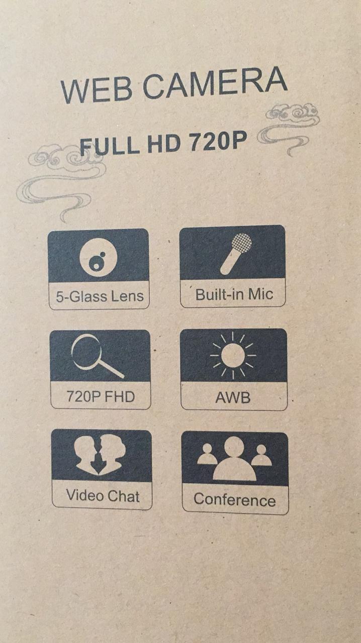 web cam 720P caja -   FULL HD 720P