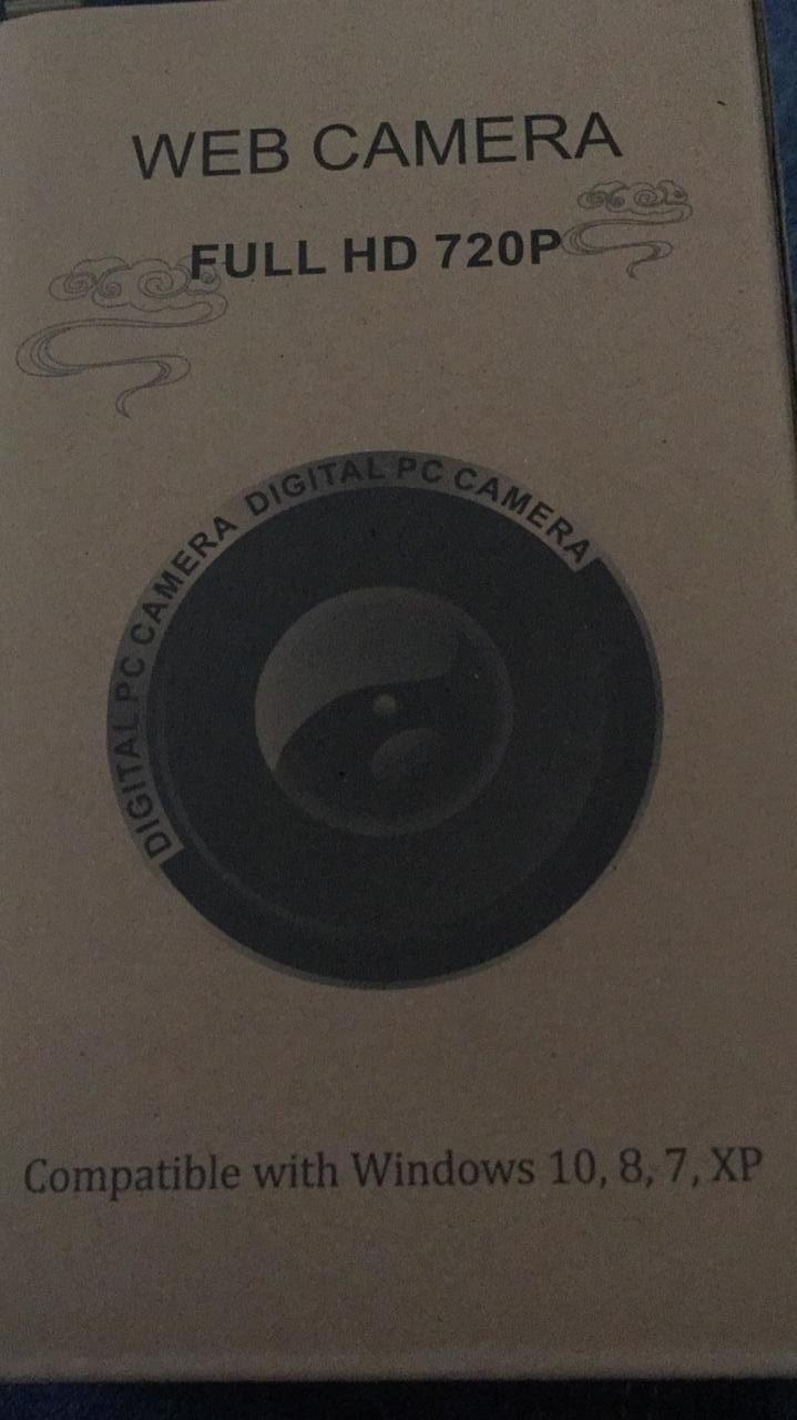 web cam 720P w10 w8  w7  XP -   FULL HD 720P