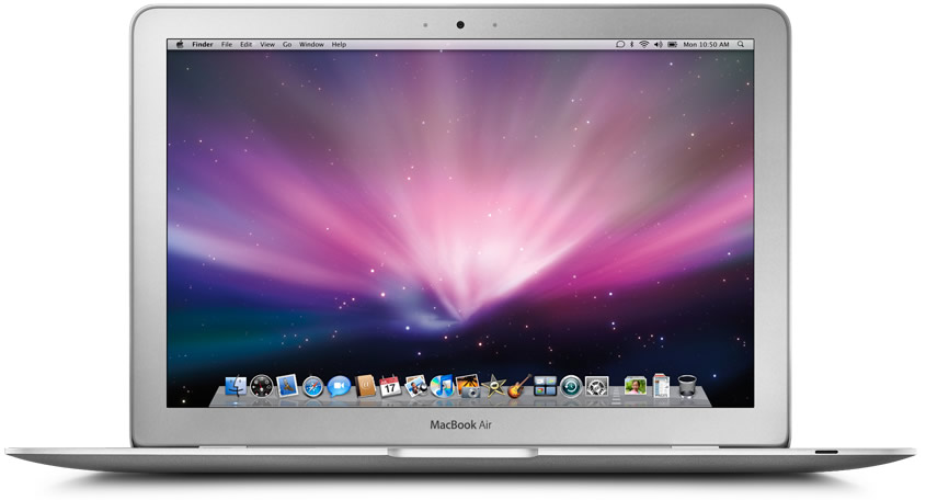 Vista Frontal - Apple MacBook Air
