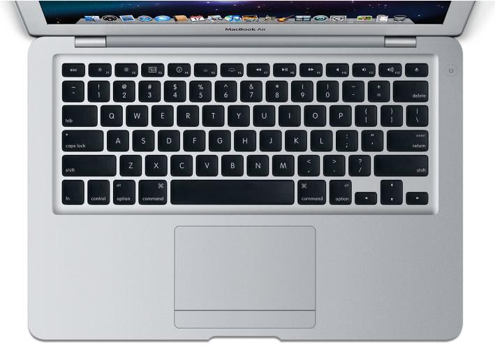 Vista Superior del Teclado - Apple MacBook Air
