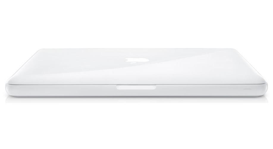 Vista Superior Pantalla - Apple MacBook Blanco