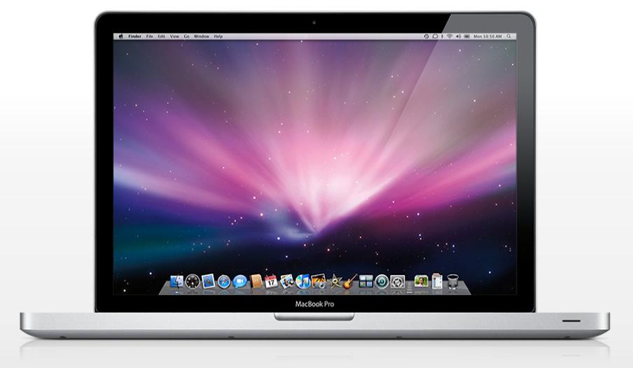 Vista Frontal - MacBook Pro Unibody