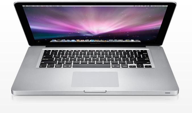 Vista Superior - MacBook Pro Unibody