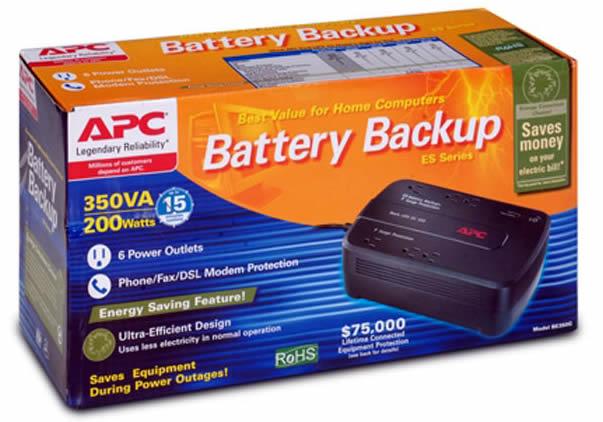 Caja Original - APC BE350G-LM 350VA / 200W