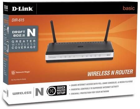 Caja Original - DLink Router DIR 615 Doble Antena