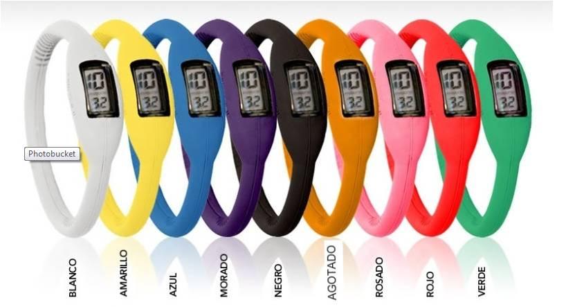 Colores Surtidos -   Reloj Iónico Digital