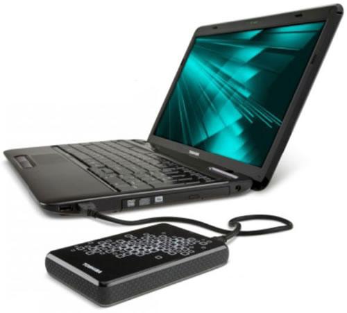 Conexión USB - Toshiba Disco Externo 640GB