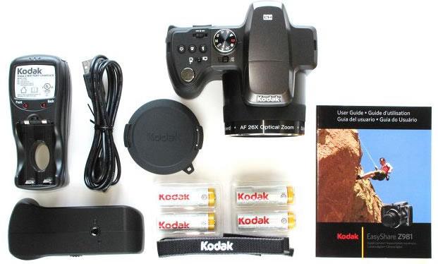 Contenido Caja - Kodak EasyShare Z981
