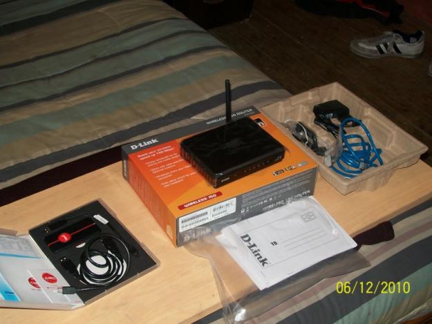 Contenido Caja - DLink Router DIR 600