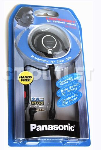 Empaque diadema PANASONIC - Panasonic Diadema Tipo Clip KX-TCA-93 RJ11 2.5mm