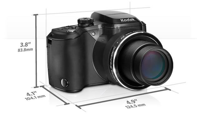 Dimensiones - Kodak EasyShare Z981