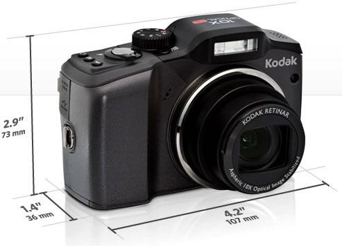 Dimensiones Tamaño - Kodak EasyShare Z915