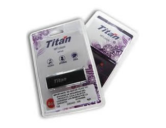 Empaque Original - Titan Memoria USB con MP3 4GB