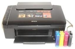 Impresora Marca Epson - Epson Stylus TX135 con Tinta Continua