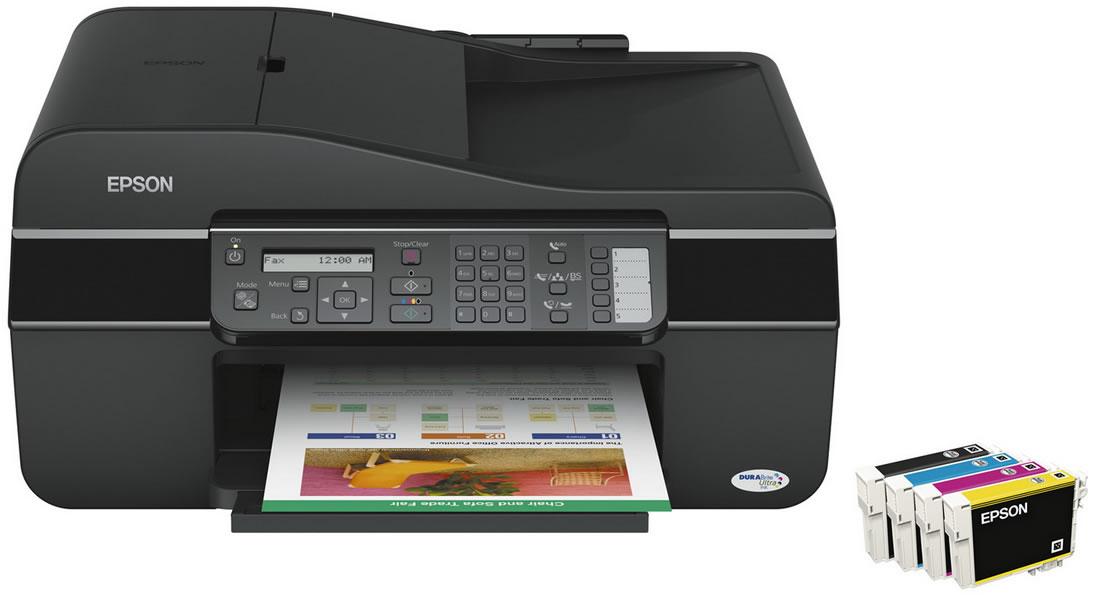 Cartuchos Independientes - Epson TX320 + Sistema de Tinta