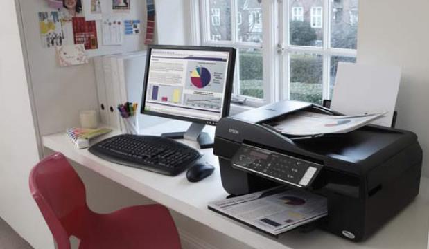 Imprime Escanea Fotocopia y Fax  - Epson TX320 + Sistema de Tinta