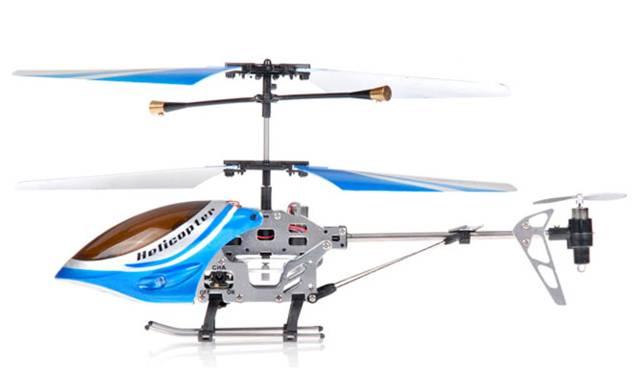Color Azul -   Helicóptero a Control Remoto