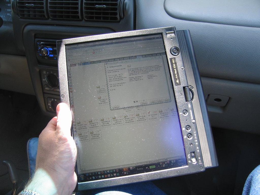 Usándolo como Cuaderno - IBM Lenovo thinkpad X201