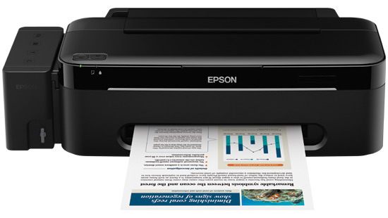 12000 Impresiones Negro y 6500 color - Epson L200 con Tinta Continua Original