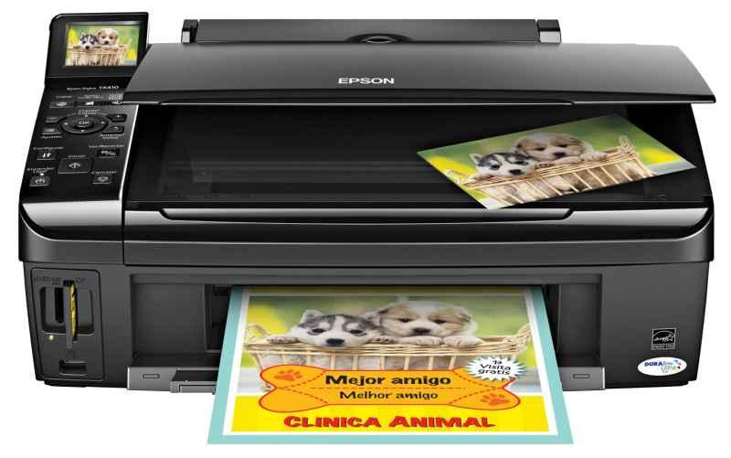 Pantalla LCD de la Impresora - Epson TX220