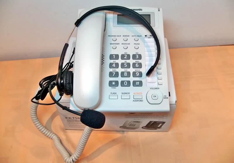 Teléfono Secretarial con Diadema - Panasonic