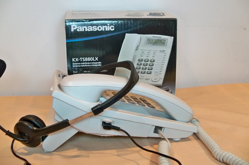 Conector Diadema 2.5 mm - Panasonic