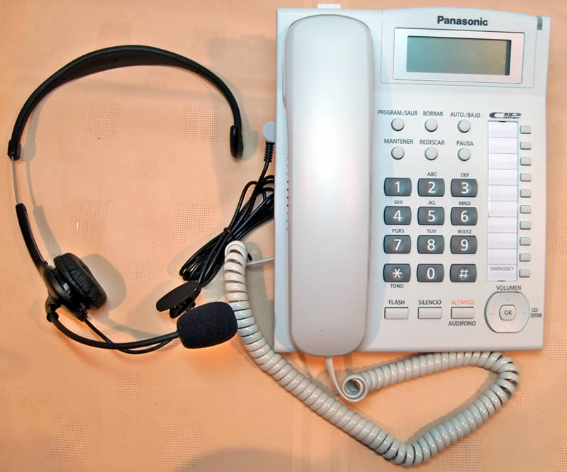 Kit Teléfono con Diadema
