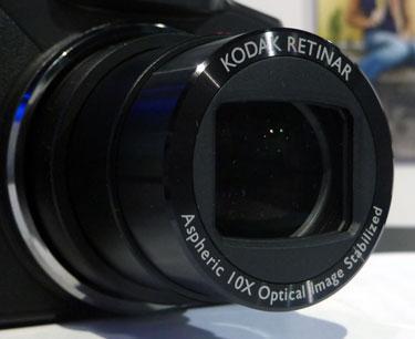 Lente - Kodak EasyShare Z915
