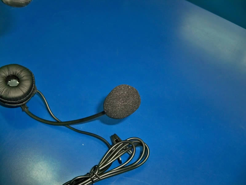 Micrófono Sensible -   Diadema Telefónica con Conector 2.5 mm