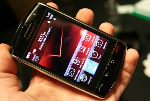 Peso 160 gramos - BlackBerry Storm 9530 Pantalla Táctil