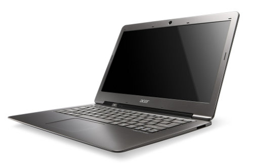 Vista Perfil - Acer S3 UltraBook Aspire