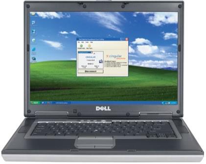 Vista Frontal - Dell Latitude D620