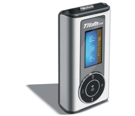 Forma y Apariencia - Titan Reproductor Transmisor FM 4GB