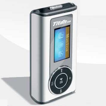 Apariencia y Forma - Titan Reproductor Transmisor FM 4GB