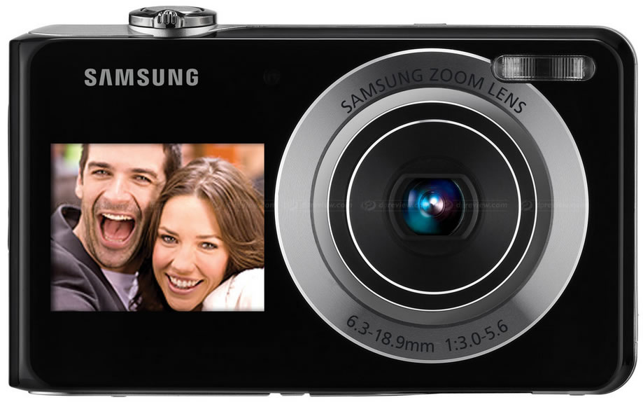 Cámara Fotográfica Samsung - Samsung PL 100 con Doble Pantalla