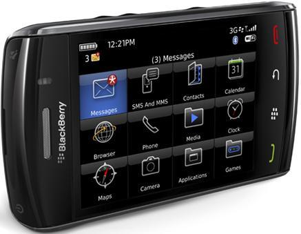 Celular Blackberry Storm 9530 - BlackBerry Storm 9530 Pantalla Táctil