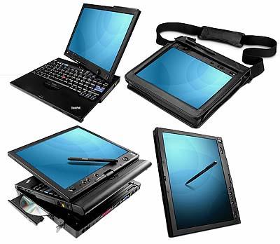 Usos de la Pantalla Giratoria - IBM Lenovo thinkpad X201